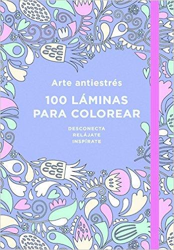 autoayuda con arteterapia portada morada 100 laminas para colorear